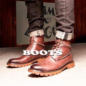 botas estilo hombre